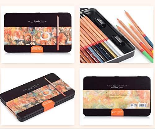 3120-24TN Aquarelle Berrd 3100 3120 12//24//36//48//72//78//100//108//120 Bo/îte en /étain//Coffret Cadeau /Édition limit/ée Ensemble de Crayons de Couleur hydrosoluble//Huile