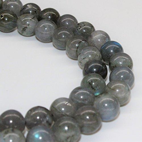 - Lynxus Labradorite Gemstone Loose Beads 10mm 37 Beads Per 15.5