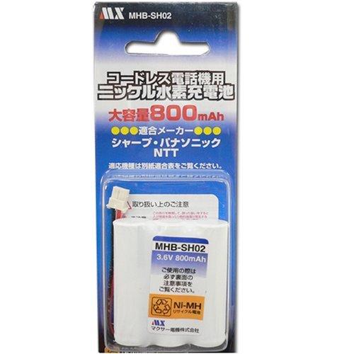 [해외]マクサ? 전기 파 나 소닉 용 충전 지 【 P-AA431BA04BTA018AE 동등 품 】 / Maxser electric Batteries for Panasonic [P-AA431ba04bta018ae equivalent]