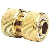 "Draper 68435 Expert Brass 3/4"" Hose Repair Connector"