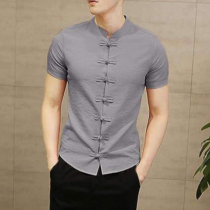 NSSY Camisa de Hombre Camisas Vestido de Hombre Ropa de ...