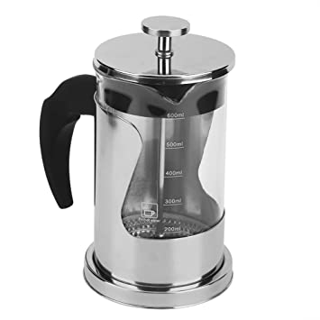 Amazon.com: Coffee Press - Cafetera eléctrica de acero ...