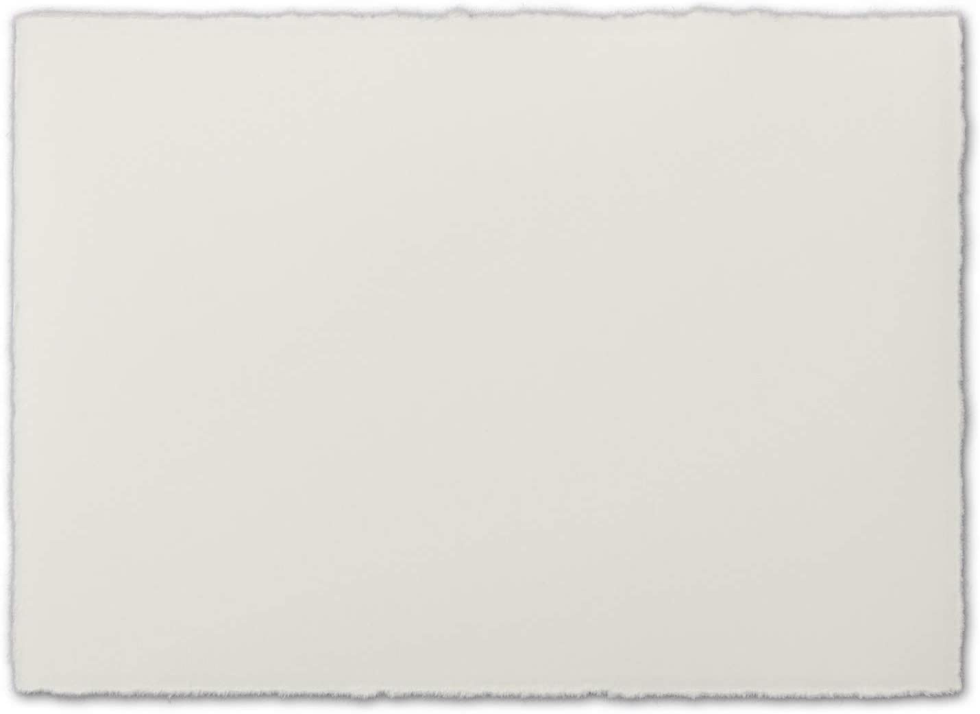 zerkall DIN A5/Verg/é Simple Cartes Parent 25 Karten Blanc Naturel