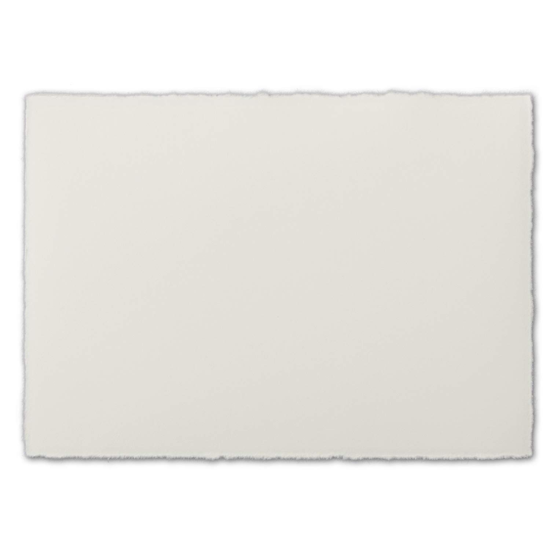 75 Stück Stück Stück Din A6 Vintage Karten, Echtes Bütten-Papier, 105 x 148 mm, Natur-Weiß halbmatt - ohne Falz - Vellum Oberfläche - Original Zerkall-Bütten B07F3CJ16G | Zürich  e0ab42