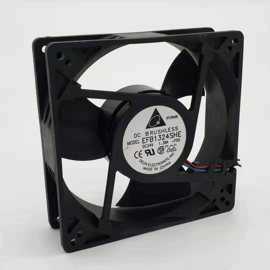 for Delta EFB1324SHE 24V 1.38A 12712738 3-Wire Cooling Fan