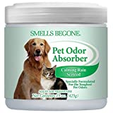 SMELLS BEGONE 59816 Odor Absorbing Gel, Pet Calming Rain