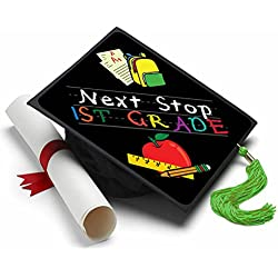 Next Stop First Grade Graduation Cap