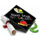 Tassel Toppers Next Stop First Grade Graduation Cap Decorations for Grad Cap