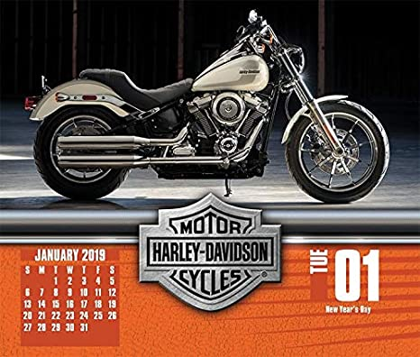 Amazon.com: Harley Davidson 2019 Calendario, Caja Edition ...