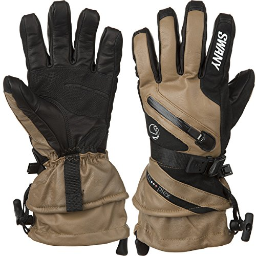 Swany X-Cell II Glove Snow Gloves Tan/Black Medium