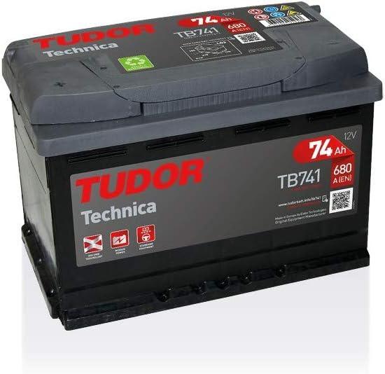 Batterie TECHNICA TUDOR TB741 12V 74Ah 680A TUDOR