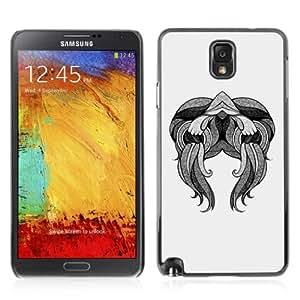 YOYOSHOP [Abstract Tattoo Art] Samsung Galaxy Note 3 Case Kimberly Kurzendoerfer