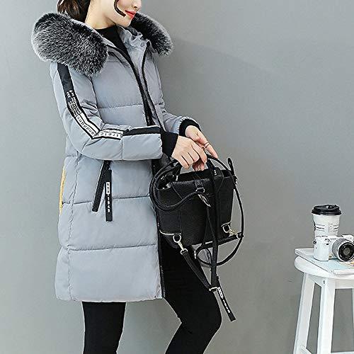 Kingwo Épais Femme Capuche Coton Vêtements En Mince Veste D'hiver OXxYwd