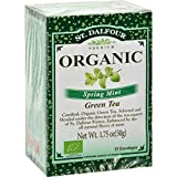 St Dalfour Green Tea Og2 Spring Mint 25 Bag 2 Cases of 6