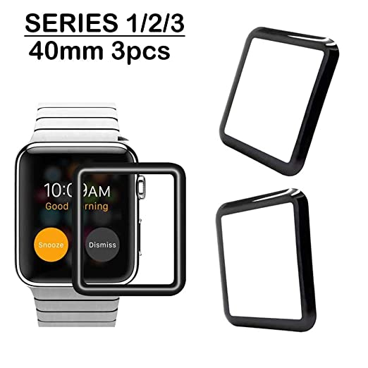 Amazon.com: [3-Pack] Apple Watch 40 mm Screen Protector ...