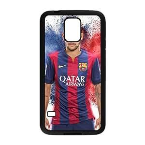 Neymar Samsung Galaxy S5 Cell Phone Case Black yyfabd-298080