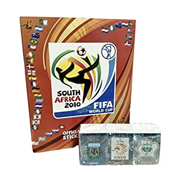 857b212a7 Panini South Africa 2010 World Cup Official Licensed Sticker Empty Album+  Complete Collection, Sports Souvenirs - Amazon Canada