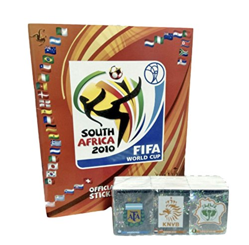 Panini South Africa 2010 World Cup Official Licensed Sticker Empty Album+ Complete Collection