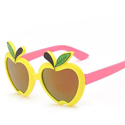 Child Sunglasses,NACOLA Kids Boys Girls Cute Apple Shape UV Protection PC Frame Party Sunglasses