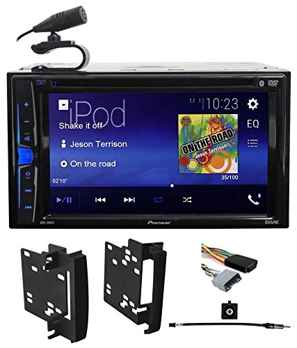Pioneer DVD/CD Bluetooth Receiver iPhone/Android/USB For 2012 Ram 1500/2500/3500