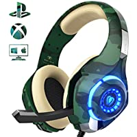 Gaming Headset for PS4 Xbox One PC, Beexcellent Stereo...