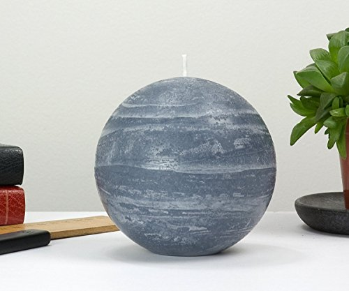 Blue Ball Candle 4