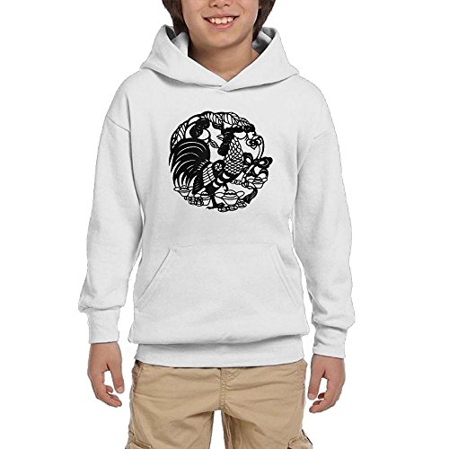 Cock Girls Pullover Hoodie Casual Pocket Sweatsuit supplier