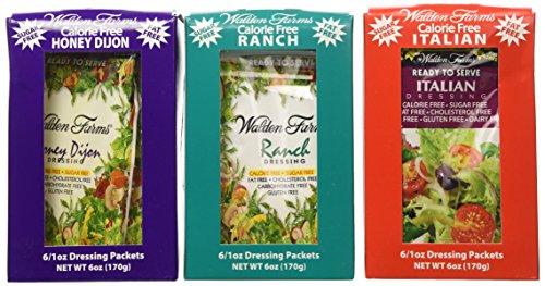 3-boxes-18-packets-walden-farms-salad-dressing-1-oz-packets-1-box-ranch-1-box-italian-1-box-honey-di