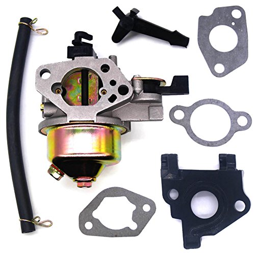Honda Gasket Insulator Carburetor (FitBest New Carburetor with Gaskets Insulator for Honda Gx240 8hp Gx270 9hp Engines Replaces 16100-ZE2-W71 & 16100-ZH9-W21)