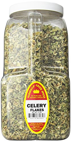 Marshalls Creek Spices Celery Flakes, XX-Large, 2 Pound by Marshall's Creek Spices