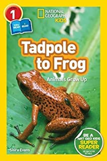Book Cover: National Geographic Readers: Tadpole to Frog