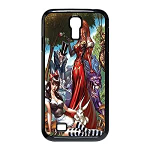 Custom Zombie Princess Design TPU Snap On Case Cover Shell Protector For Samsung Galaxy S4 i9500
