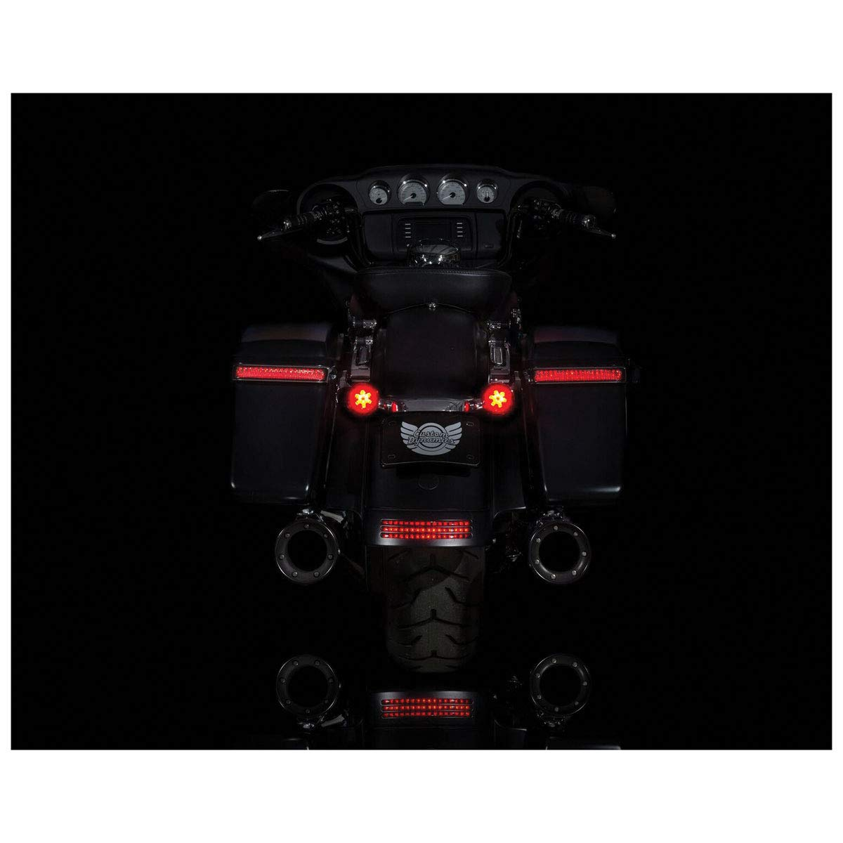Custom Dynamics ProBEAM Red//Red Ringz with Red Lens PB-RR-1157 4350358805