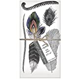 Montgomery Street Feathers Cotton Napkins, Set of 4