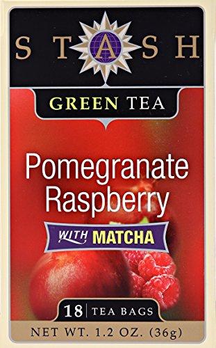 Pomegranate Raspberry (Stash Pomegranate Raspberry Green Tea, 18 ct)