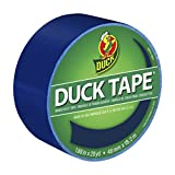 Tools & Hardware : Duck Brand 1304959 Color Duct Tape, Blue, 1.88 Inches x 20 Yards, Single Roll