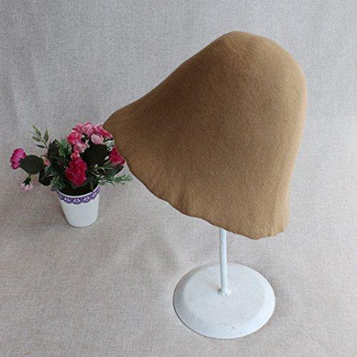 Moda Retro Camel Lana Personalizado De Coreano Cuerpo Luz Pescador Fieltro Sombrero Haoyuxiang red La q5dR5