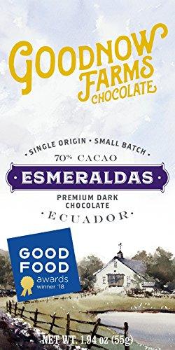 Esmeraldas 70% Dark Chocolate made in New England