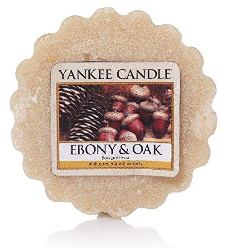 YANKEE CANDLE, Disco in Cera da sciogliere alla fragranza di Ebano e Quercia, Color Panna 1519670E
