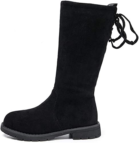 stay real Girls Winter Warm Knee High