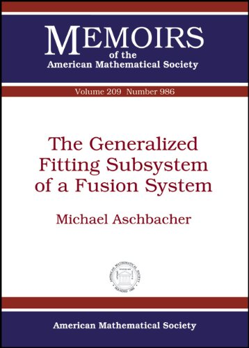 (The Generalized Fitting Subsystem of a Fusion System (Memoirs of the American Mathematical Society))