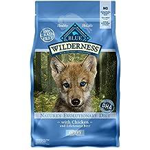 BLUE Wilderness Puppy Grain-Free Chicken Dry Dog Food 4.5-lb