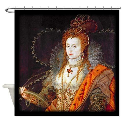 CafePress Queen Elizabeth I Decorative Fabric Shower Curtain (69