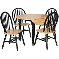TMS 5-Piece Drop Leaf Dining Set