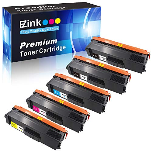 E-Z Ink (TM) Compatible Toner Cartridge Replacement for Brother TN336 TN331 to use with HL-L8350CDW HL-L8250CDN HL-L8350CDWT MFC-L8850CDW MFC-L8600CDW (2 Black 1 Cyan 1 Magenta 1 Yellow, 5 Pack) ()