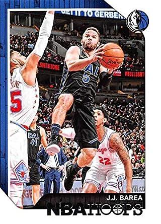 2018-19 NBA Hoops Basketball  123 J.J. Barea Dallas Mavericks Official  Trading Card made f9b52f31a