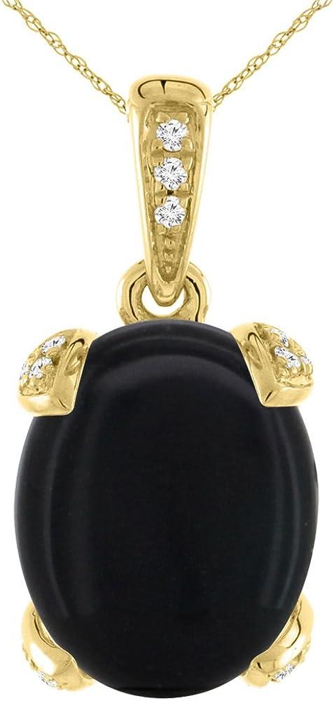 19 An Onyx Oval Black//Black 16 x 12 mm 1 Box