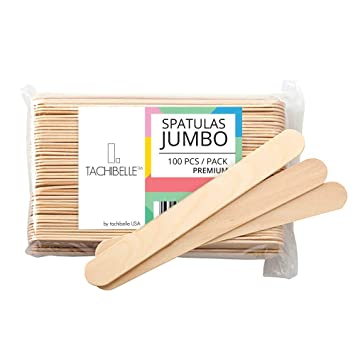 Natural Wood Craft Sticks with Rounded Ends