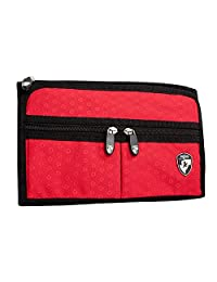 Heys - Ecotex Hanging Jewelry Bag - Red Only - Made From Water Bottles - 23 Dedicated Compartments