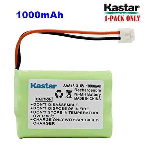 (Kastar 1-Pack AAA 3.6V EH 1000mAh Ni-MH Battery for Motorola MD-4260/7101/7151/7161/7251//261/761/781/791/7101/7151/7161 SD4501/4502/4550/4551/4561/4581/D4591 SD7500/7501/7502/7561/7581 etc.)